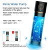 3 in 1 Automatic Penis Water Vacuum Pump India Penis Enlargement Rechargeable Male Masturbator With 5 Suction Power