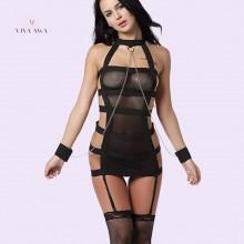 BDSM Lingerie Elastic Bondage Handcuff Lingerie Online India
