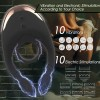Cock Ring Vibrating India Couples Vibrator Nipple Clit 10 Vibration 10 Electric Stimulation Waterproof Rechargeable Remote Control
