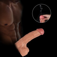 Ejaculating Dildo Realistic Ultra-Soft Squiring Penis Cock With Suction Cup Sex Toy In India