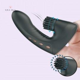 Finger Magic Drill Vibrator Vibrating Finger Toy Stimulation India Female