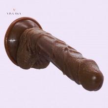 8.3Inch 21CM Indian Brown Big Dildo Dick Adult Sex Toys