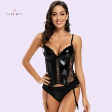 Leather Corset Online India Sexy Lingerie