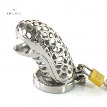 Male Chastity Lock Stainless Steel Penis Cage Chastity Device India