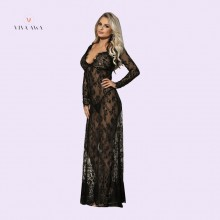 Nightgown Black Sexy Lingerie For Women India Sexy Nighty