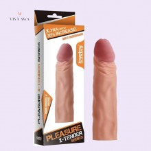 Penis Sleeve Online India Realistic Penis Extension Soft Liquid Silicone