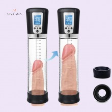 Penis Vacuum Pump With 4 Suction Intensities Rechargeable Electric Automatic Penis Enlargement Pump India