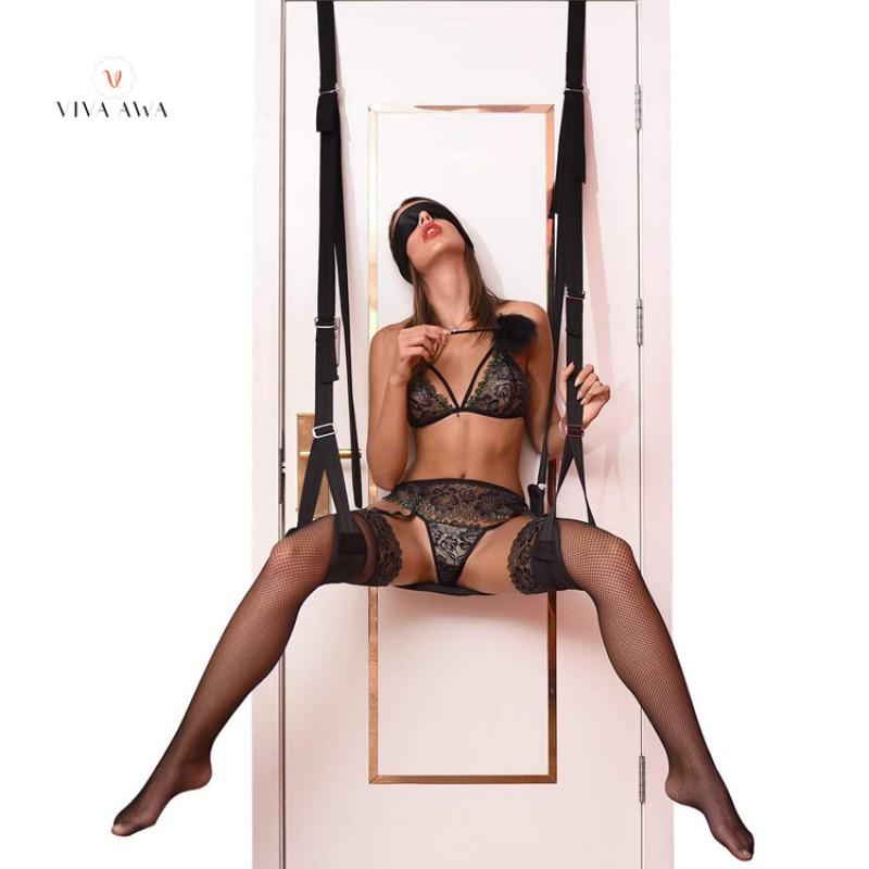 Sex Swing Restraint Bondage Kit Adjustable Straps BDSM Sex Toy India