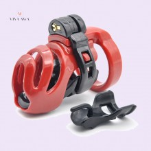Silicone Chastity Cage India Resin Cage Chastity Lock
