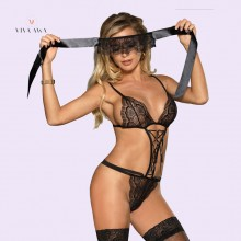 Strappy Lace Lingerie Set Teedy One Piece