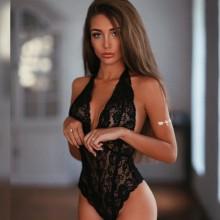 Babydoll sexy lingerie Chemise Transparent Lingerie Plus Size Sleepwear