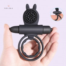 Penis Male Ring Bullet Vibrator Sex Ring Adult Sex Toys for Men